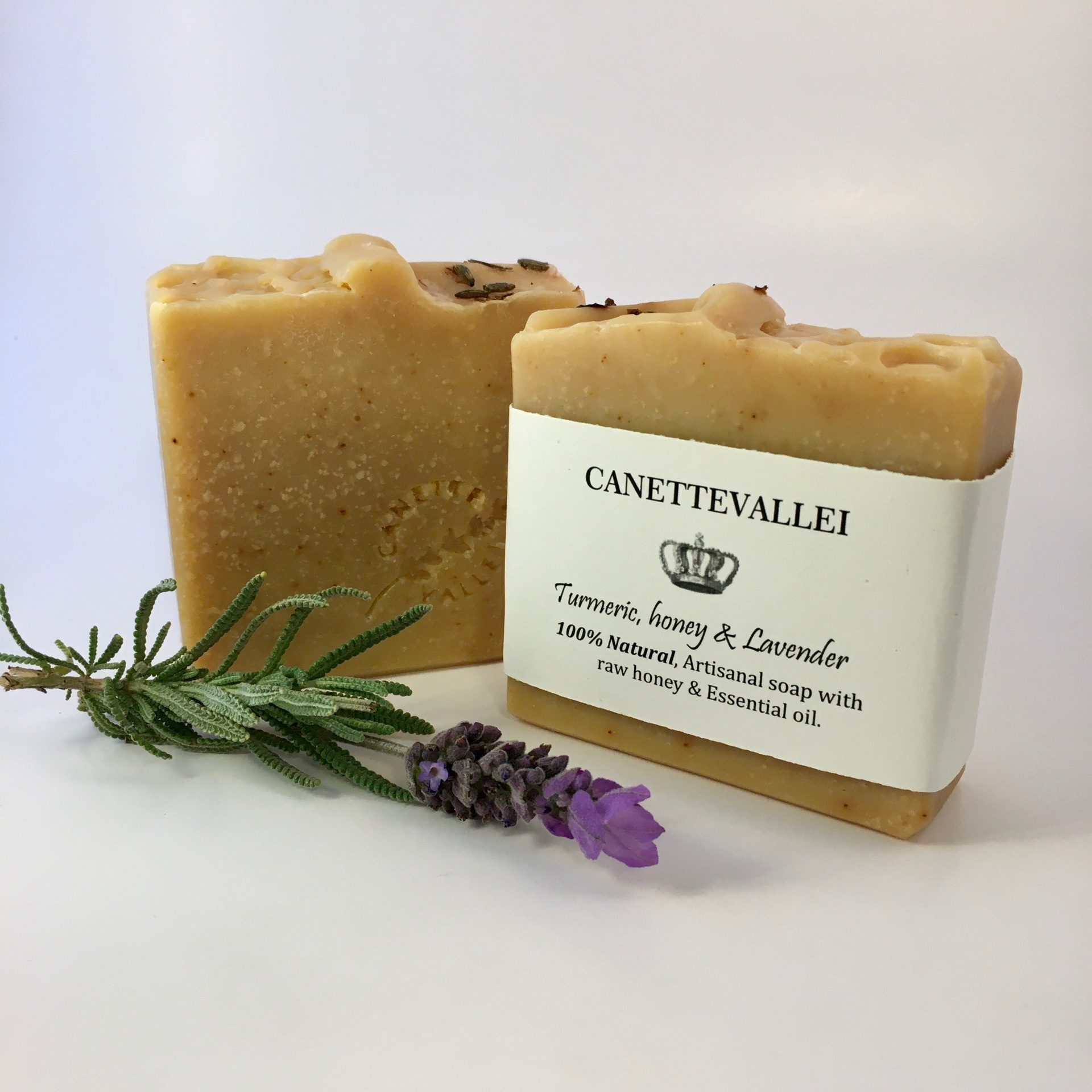 Turmeric, Honey & Lavender